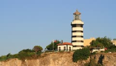 Sile lighthouse, Istanbul, Turkey Stock Footage