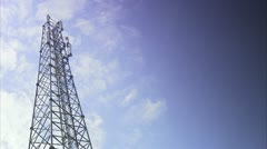 Radio mast Stock Footage