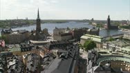 Stock Video Footage of View of Stockholm