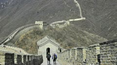 Mutianyu great wall, china Stock Footage
