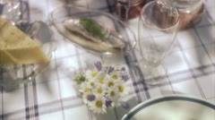 Midsummer party Stock Footage
