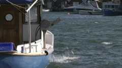 Fishing-boat Stock Footage