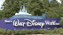 Disney World Stock Footage