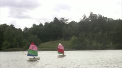 Sailing-boats Stock Footage