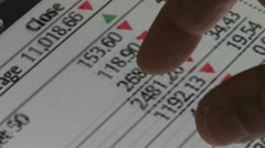Online trading Stock Footage