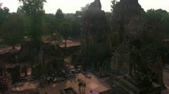 Siem Reap East Mebon Top - stock footage