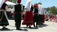 Stock Video Footage of Children Dancing at Valley Greek Festival