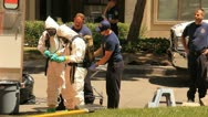 Hazmat Incident Suspicious Death 1 Stock Footage