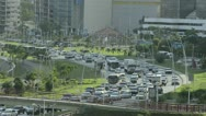 Stock Video Footage of Panama city heavy traffic