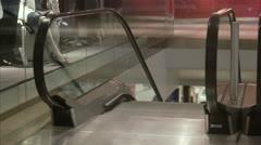 A senior couple window-shopping, Stockholm Stock Footage