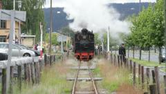 Steam Train Railroad Stock Footage