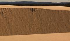 Sand Dune Wall.JPG Stock Photos