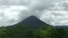 Arenal Volcano Stock Footage