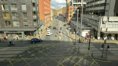 High Street Time-Lapse, Manchester Stock Footage