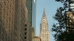 Empire State Building, NYC Stock Footage
