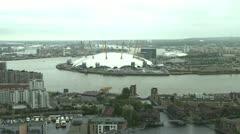 London O2 Arena Stock Footage