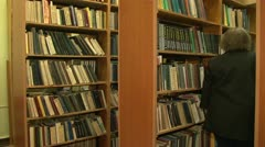 Library - stock footage