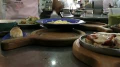 Meals, Dinner Plate, Foods, Cuisine, Eat Stock Footage