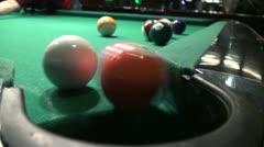 American Billiards. Stock Footage