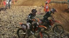 PExtreme motorcycle enduro race rocks HD 0847 Stock Footage