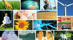 Montage Lifestyles Developed and Produced Around the Globe Stock Footage