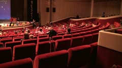 The audience in the cinema Stock Footage