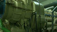 Minders have a diesel engine. Stock Footage