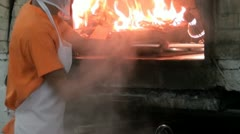 Ovens, Stoves, Foods, Cooking, Kitchens Stock Footage