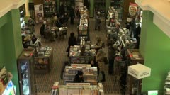 Book shop Stock Footage