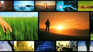 Stock Video Footage of Montage of Lifestyle Achievements and Ecosystems