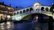 Stock Video Footage of Rialto Bridge - Venice, Venezia