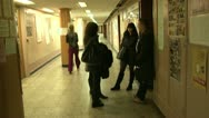 Stock Video Footage of Corridor