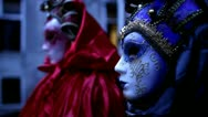 Stock Video Footage of Venetian mask carneval di venezia - Venice, Venezia