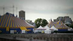 Cirque du Soleil TiltShift Stock Footage