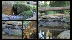 Paradise Water Collage 2 - stock footage