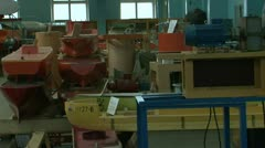 Models of ships Stock Footage