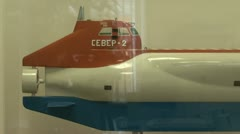 Models of submarines Stock Footage