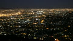 Cape Town City Lights from Lionshead Stock Footage