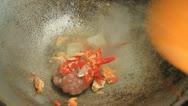 Thai food. Stock Footage