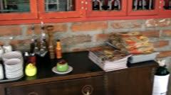 Wine, WIne Rack, Wine Cabinet, Alcoholic Drinks Stock Footage