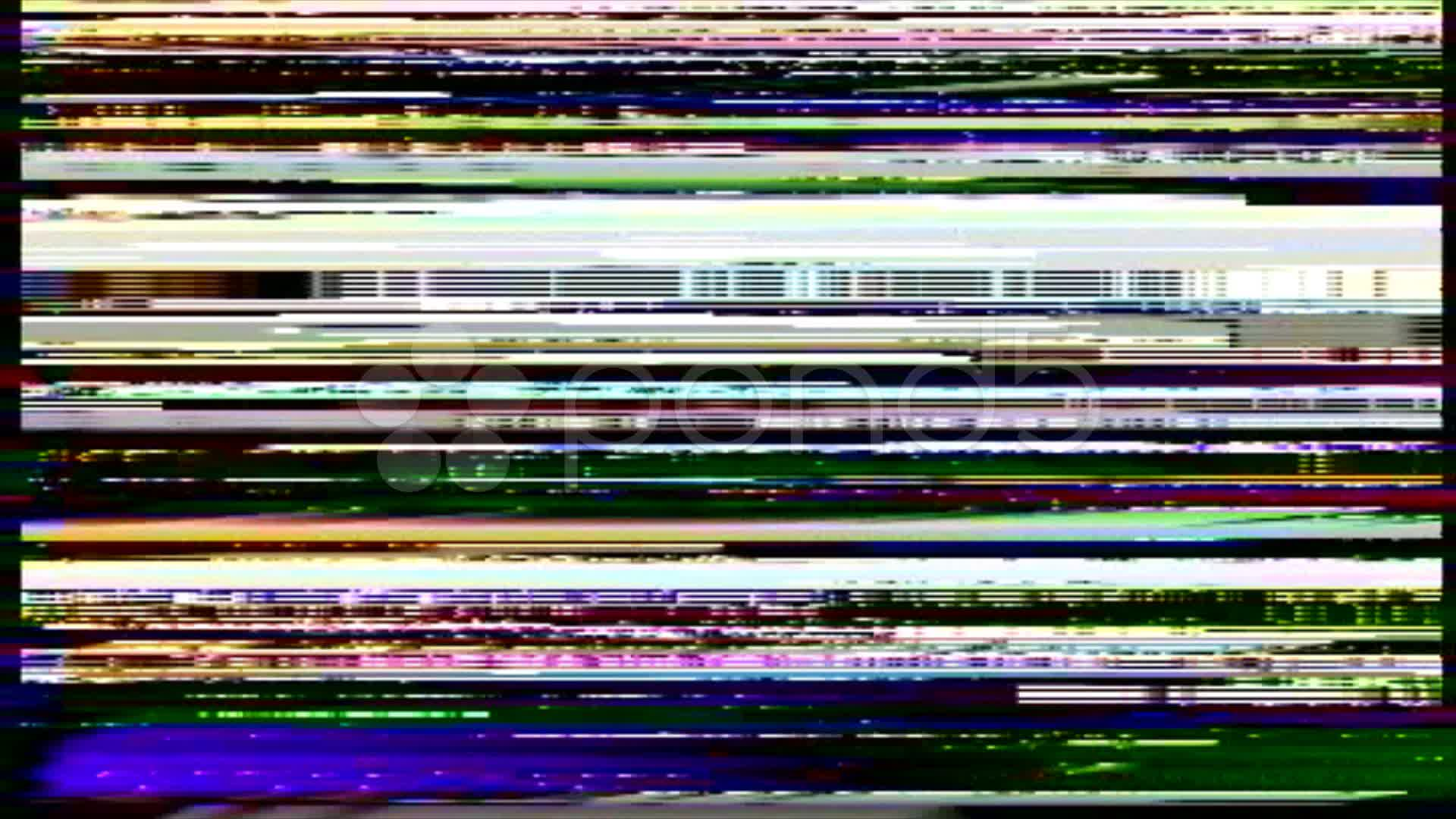Vhs Noise On The Greenscreen Stock Video 11302075 Pond5