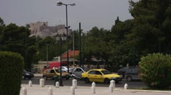Acropolis&street Stock Footage