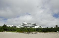 Large hotel on Ishigaki island, Okinawa Stock Photos