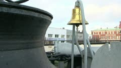 The ship's bell Stock Footage