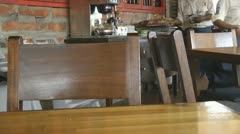 Restaurants, Cafes, Dining Rooms Stock Footage