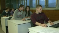 Stock Video Footage of Students at the computer
