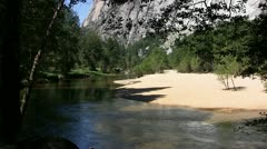 Merced River, Yosemite NP - stock footage