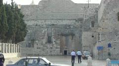 BETHLEHEM, PALESTINE -November, 03:  Central square of Bethlehem on November 03, Stock Footage