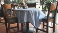 Tables, Chairs, Dining, Furniture Stock Footage