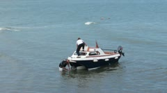 Leisure Boat A Stock Footage